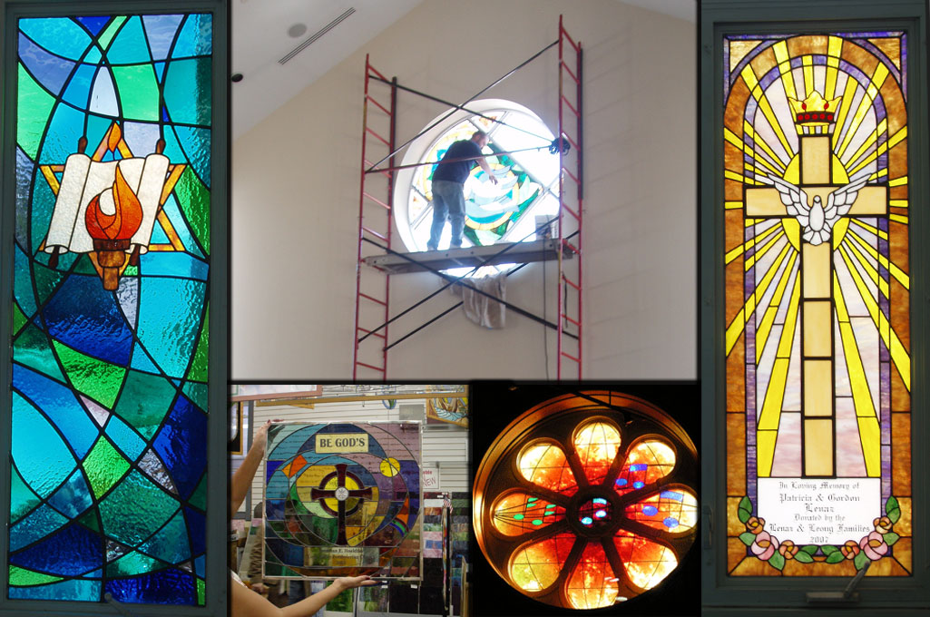 Studio J Custom Stained Glass And Restoration